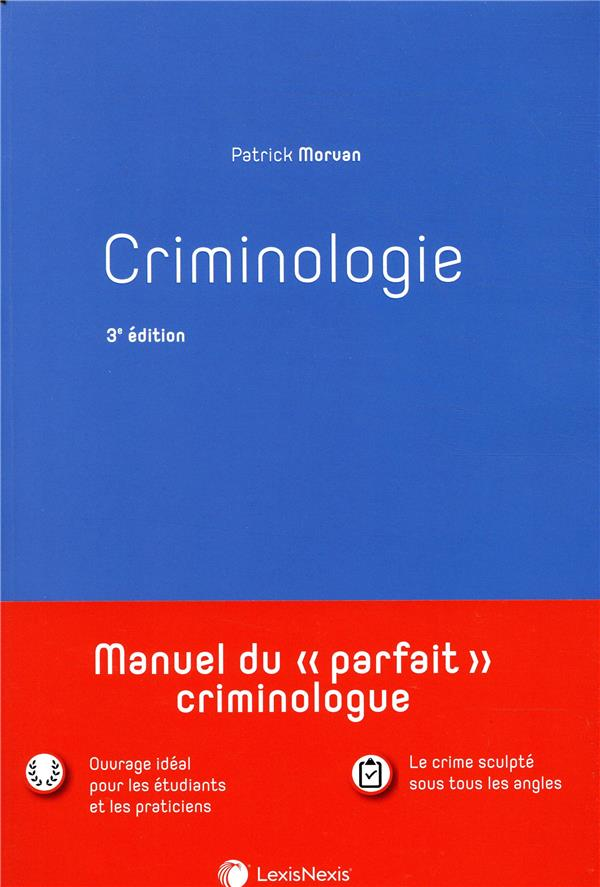 Criminologie (3e édition)