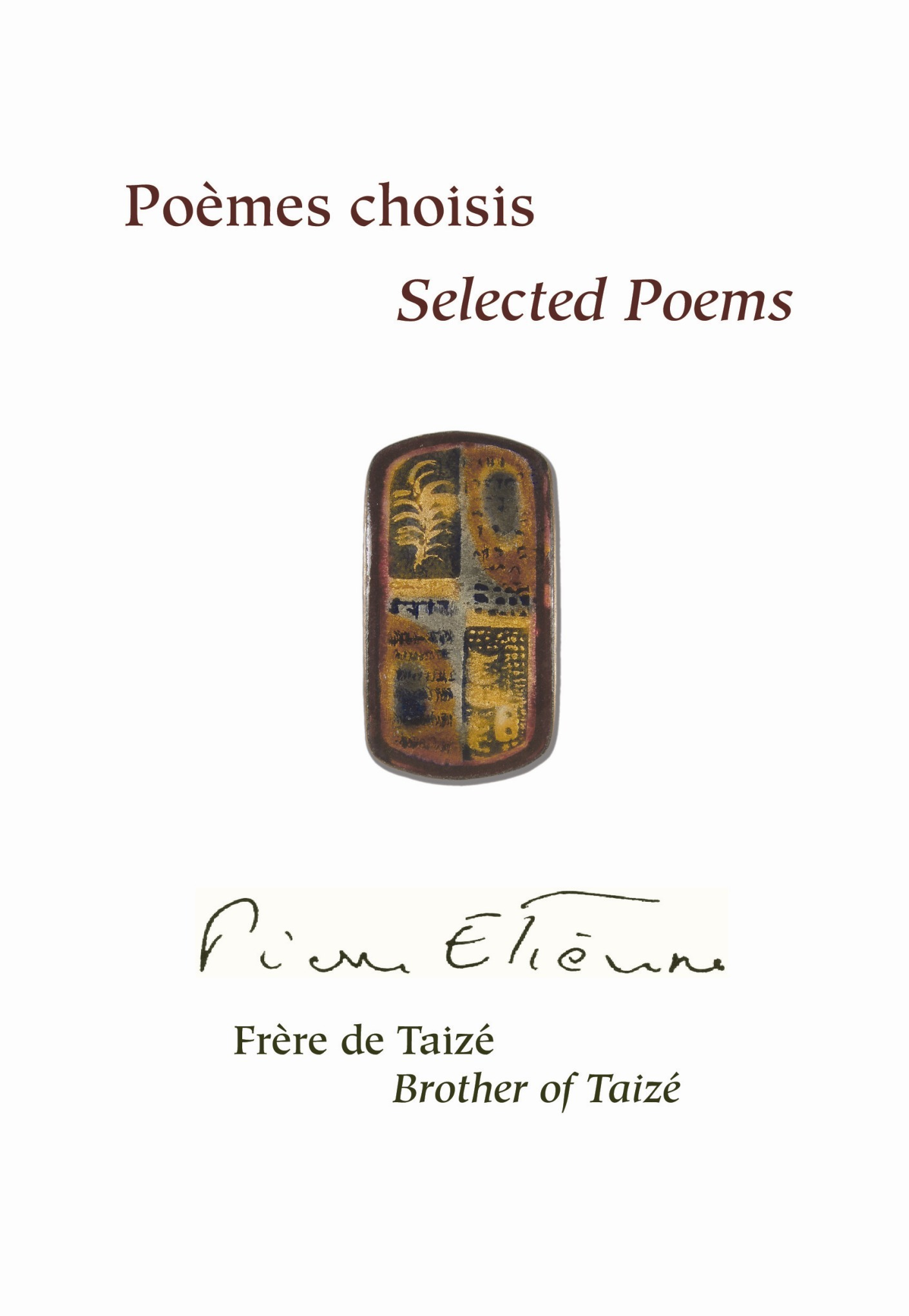 Poèmes choisis - Selected Poems