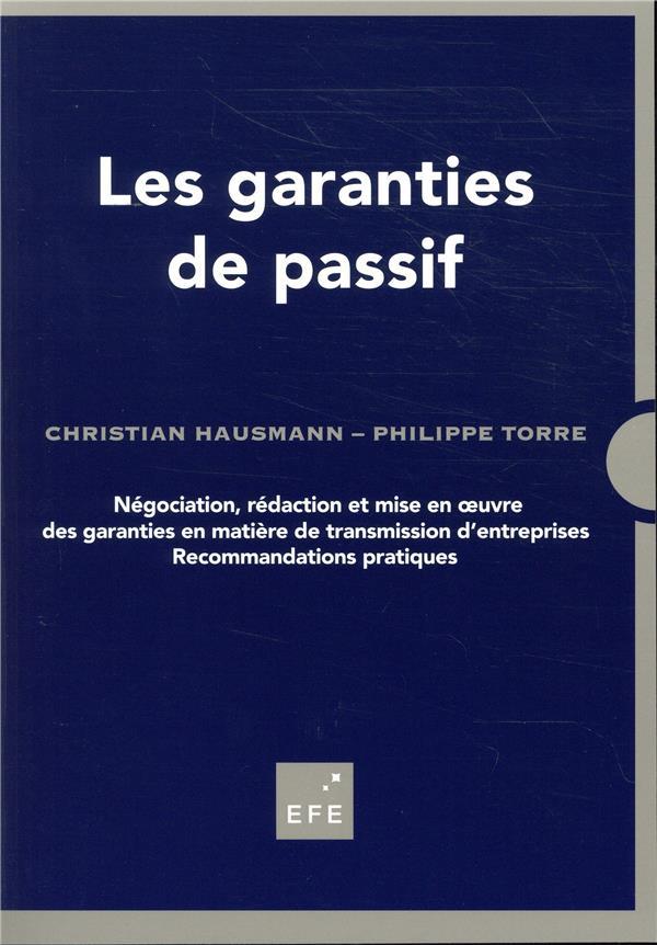 Les garanties de passif