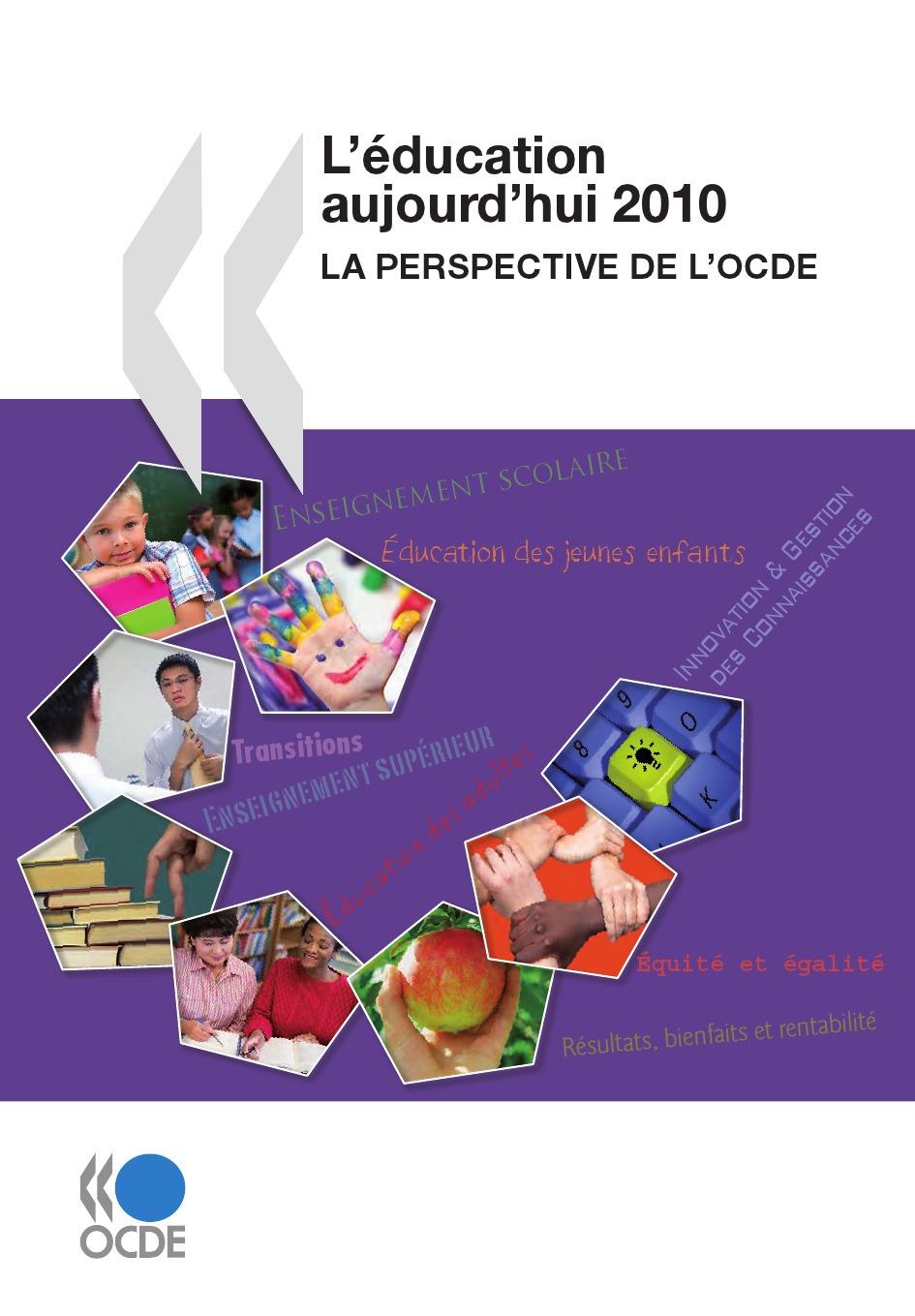 L'éducation aujourd'hui 2010