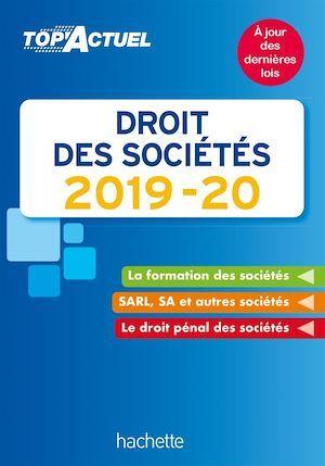 Top'actuel ; droit des sociétés (édition 2019/2020)