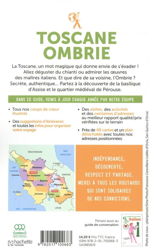 Guide du Routard ; Toscane, Ombrie (édition 2020)
