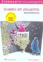 Couverture de Romeo et juliette