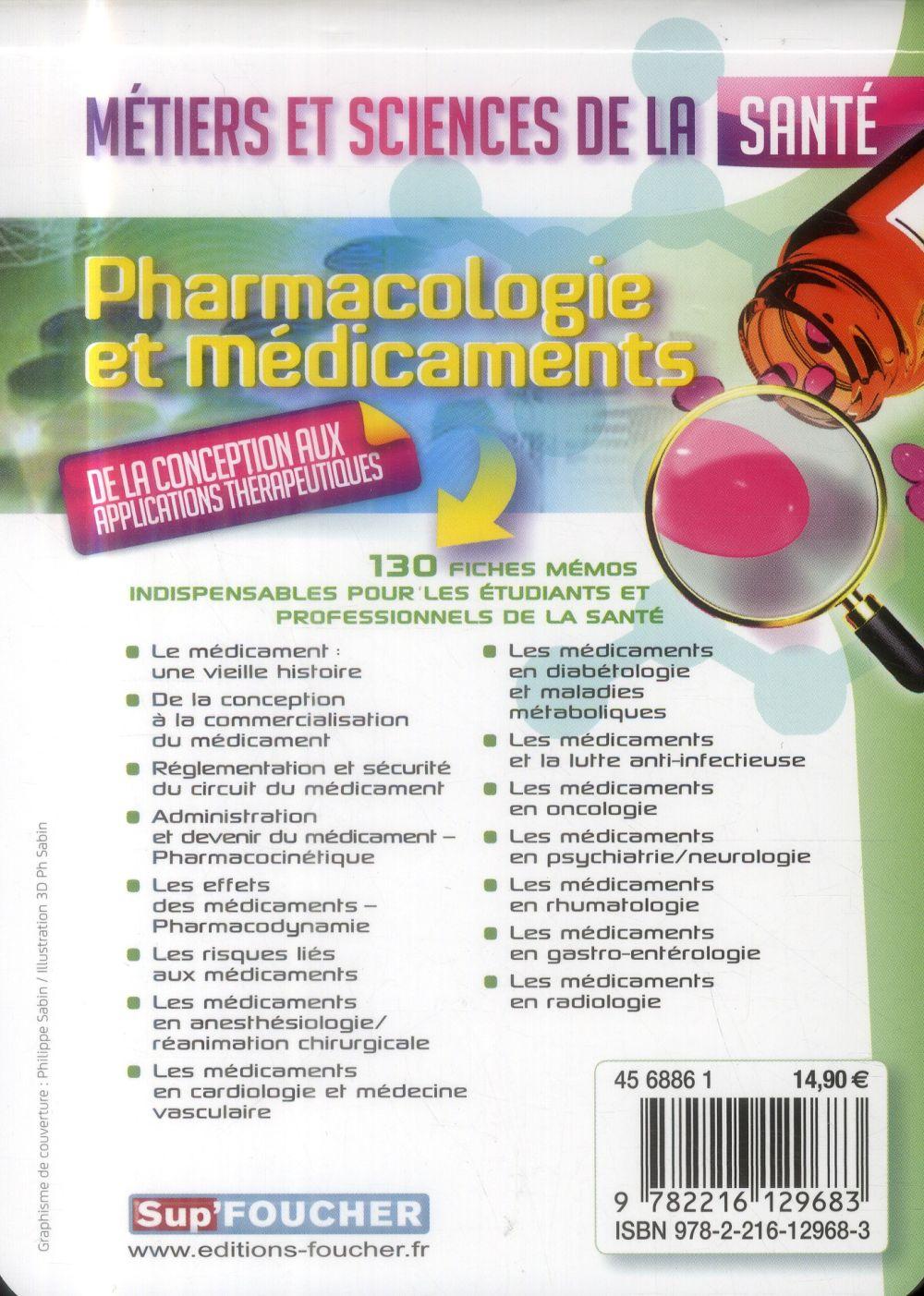 Sup Foucher Pharmacologie Et Medicaments Metiers Et Sciences De La Sante A Le Texier Foucher Grand Format Le Hall Du Livre Nancy