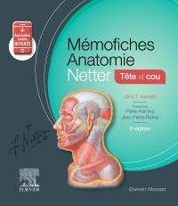 Mémo-fiches ; anatomie Netter ; tête et cou (5e édition)