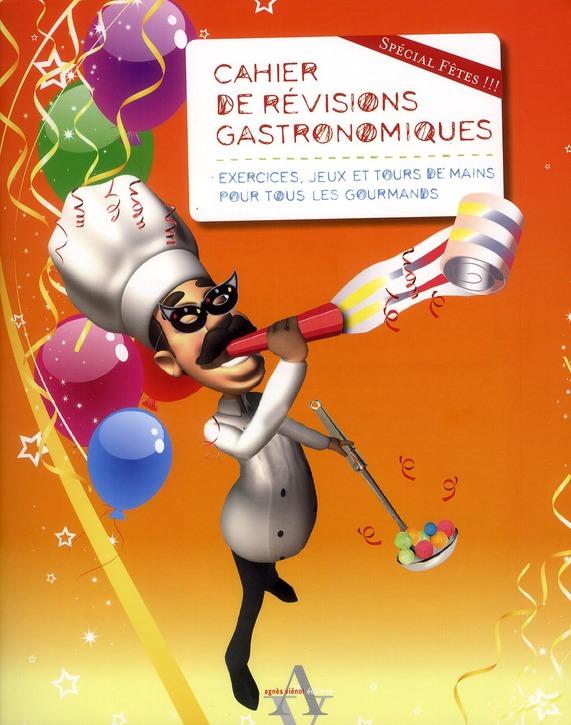 Cahier de révisions gastronomiques