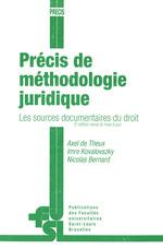 Vente EBooks : Précis de méthodologie juridique  - Nicolas Bernard - Imre Kovalovszky