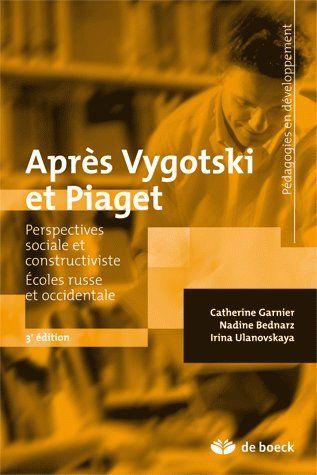 Apres Vygotski Et Piaget