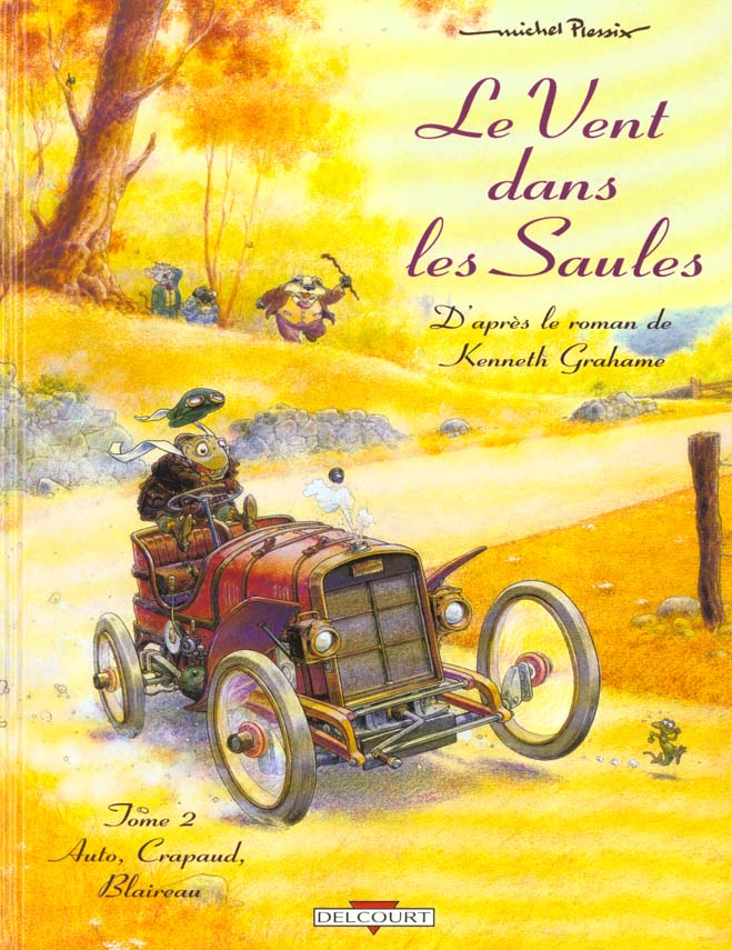 Vent Dans Les Saules T02 Auto, Crapaud,