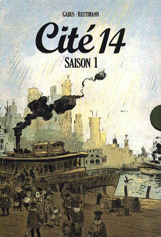 Cité 14 - saison 1 ; coffret Intégrale t.1 à t.10