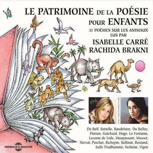 Vente AudioBook : Le patrimoine de la poésie pour les enfants. 31 poèmes sur les animaux  - Paul Verlaine  - Guy Maupassant  - Charles Baudelaire  - Victor Hugo  - Joachim du Bellay