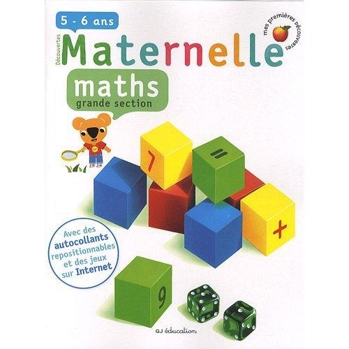 Mathématiques ; grande section de maternelle ; 5/6 ans