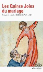 Vente Livre Numérique : Les Quinze Joies du mariage  - Anonymes