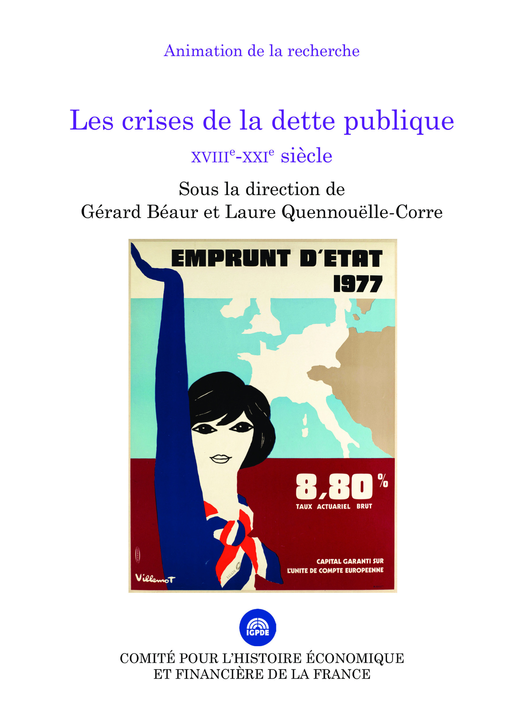 Les crises de la dette publique, XVIIIe-XXIe siècle