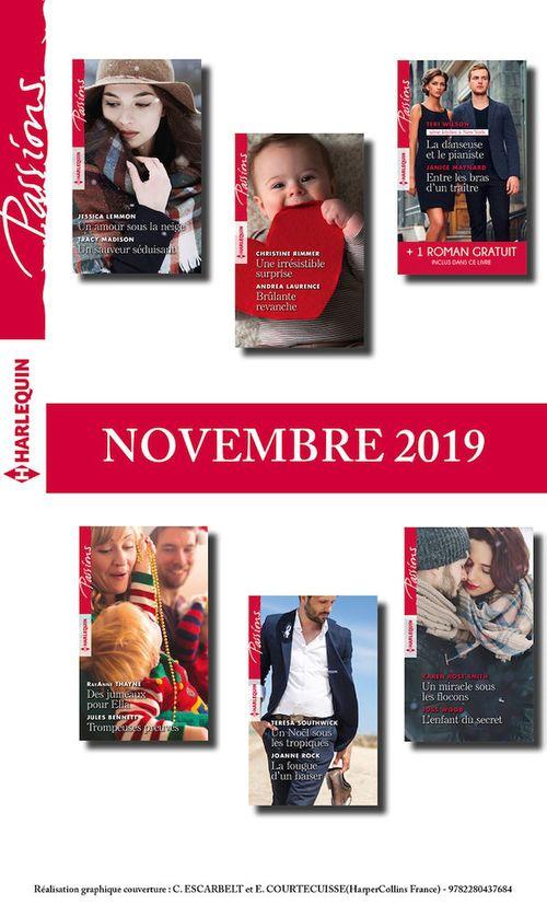 Pack mensuel Passions : 12 romans + 2 gratuits (Novembre 2019)