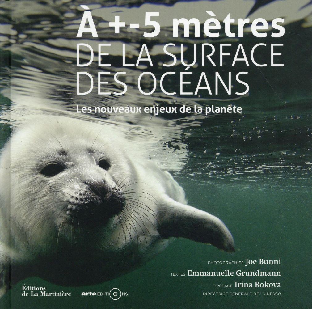 à +- 5 mètres de la surface des océans ; les nouveaux enjeux de la planète