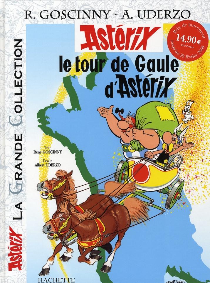 Astérix T.5 ; le tour de Gaule d'Astérix