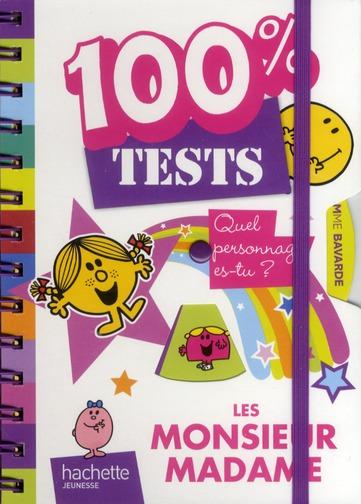 Les Monsieur Madame ; Mon Carnet 100% Tests