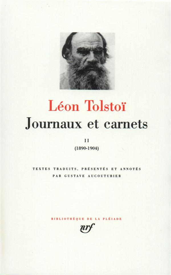Journaux et carnets (tome 2-1890-1904)