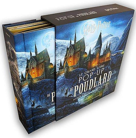 Harry Potter ; le grand livre pop-up de Poudlard