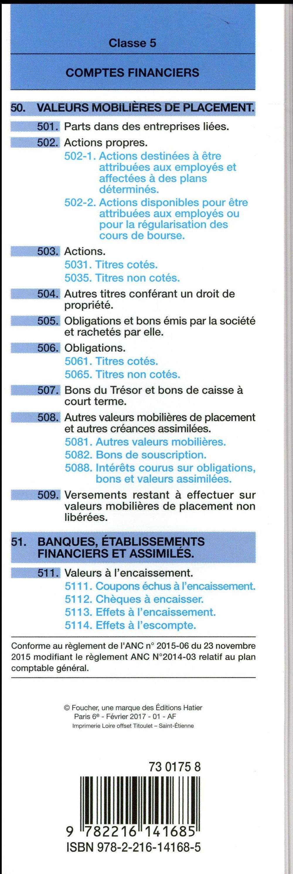 Plan comptable général (édition 2017/2018)