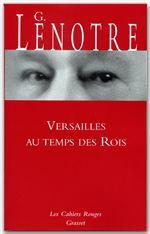 Versailles au temps des rois