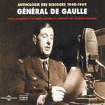 Vente AudioBook : Anthologie des discours de Charles de Gaulle (1940-1969)