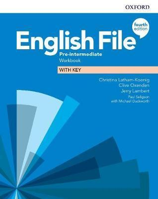English file: 4th edition  pre-intermediate. workbook with key