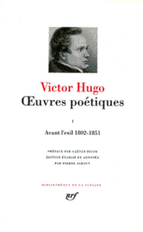 Oeuvres poétiques t.2 ; les châtiments ; les contemplations