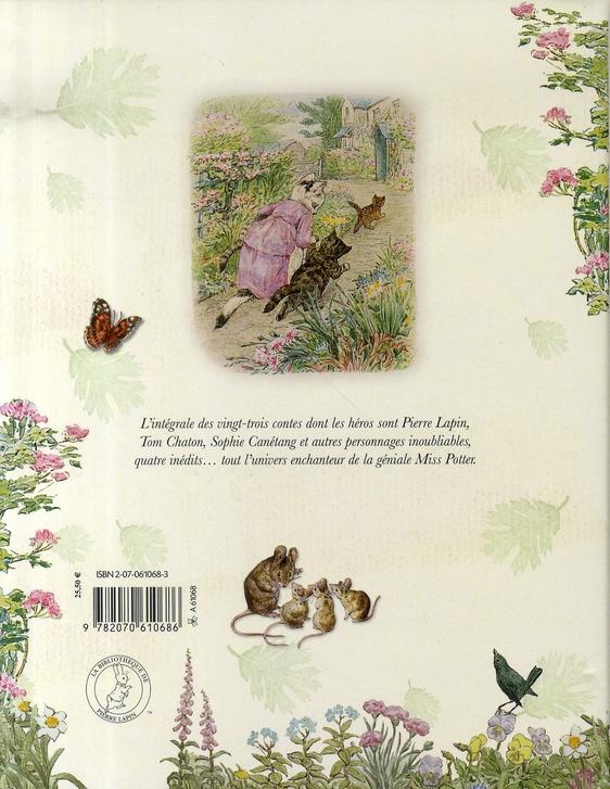 Le grand livre de Beatrix Potter ; intégrale des 23 contes classiques de Beatrix Potter