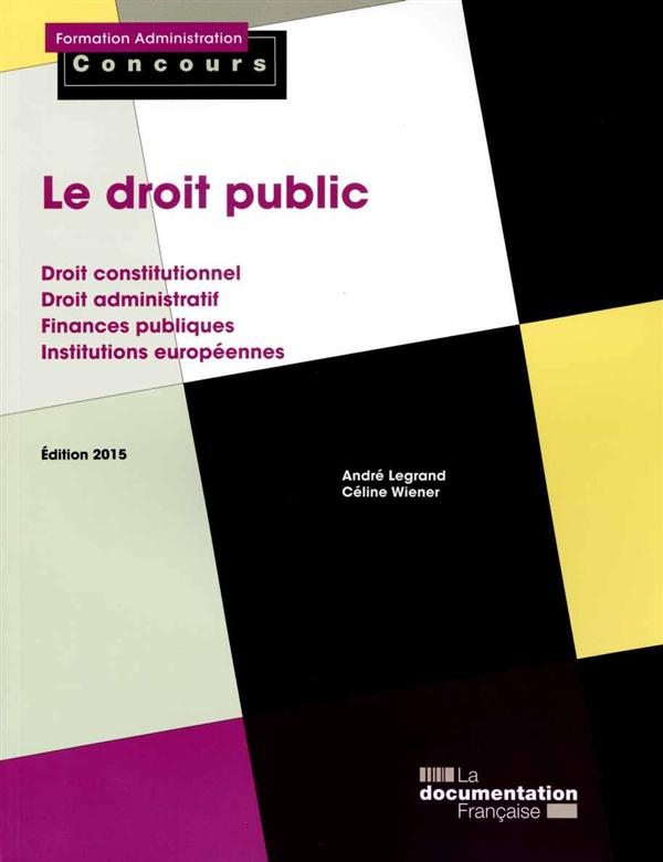 le droit public (édition 2015)