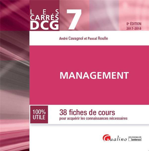 management (édition 2017/2018)