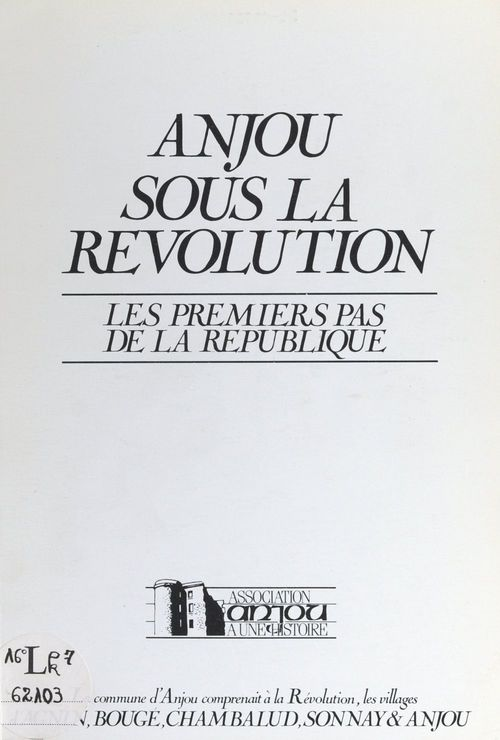Anjou sous la Révolution  - Michel Lespérat  - Gabriel Magnat