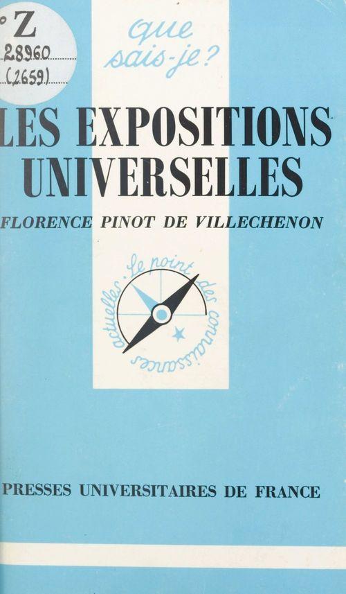 Les expositions universelles