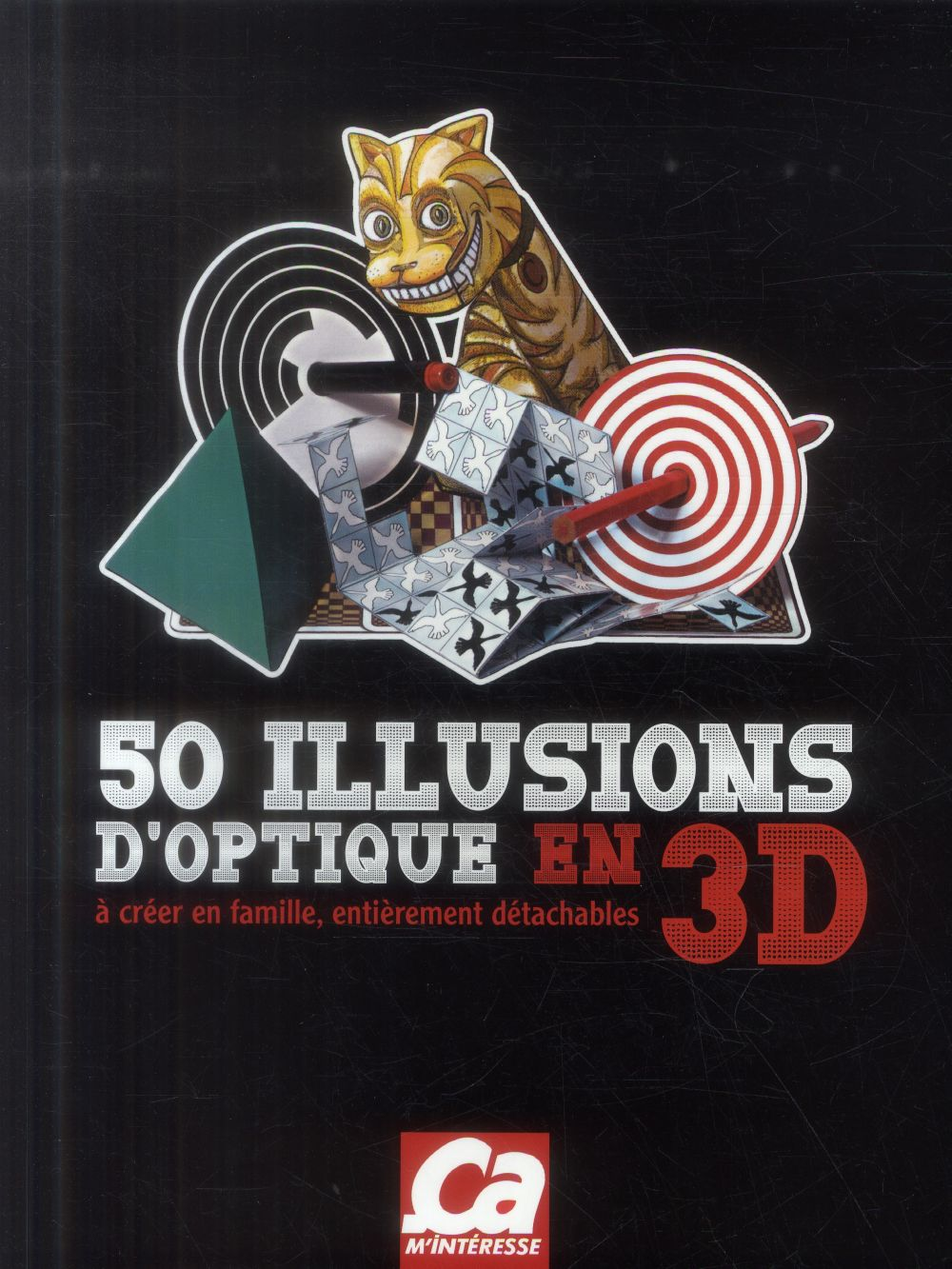 50 illusions d'optique en 3d