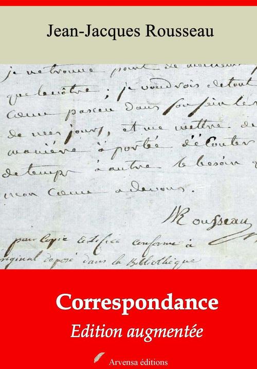 Correspondance - suivi d'annexes