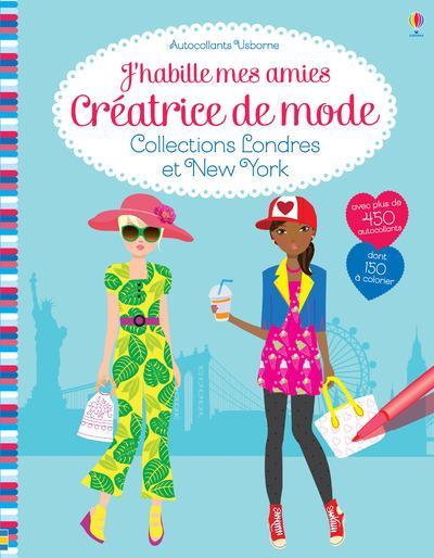 j'habille mes amies ; créatrice de mode ; collections Londres et New York