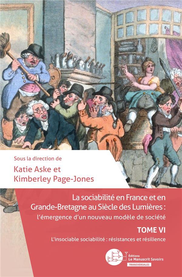 la sociabilité en France et en Grande-Bretagne au siècle des Lumières