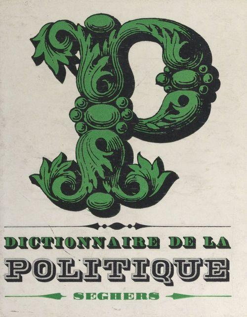 Dictionnaire de la politique