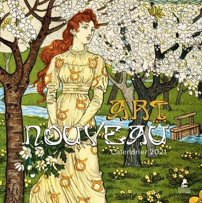 Art nouveau ; calendrier (édition 2021)