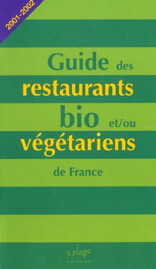 Guide des restaurants bio