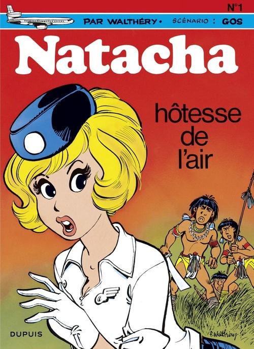 Natacha t.1 ; hôtesse de l'air  - Gos  - François Walthéry