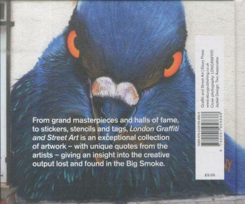 LONDON GRAFFITI AND STREET ART - UNIQUE ARTWORK FROM LONDON''S STREETS