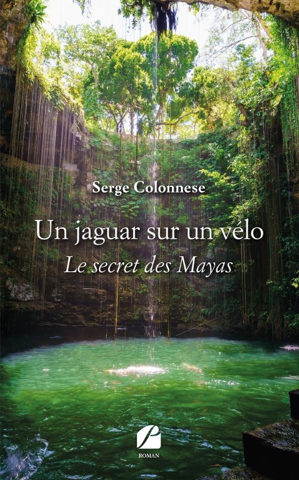 Un jaguar sur un velo - le secret des mayas