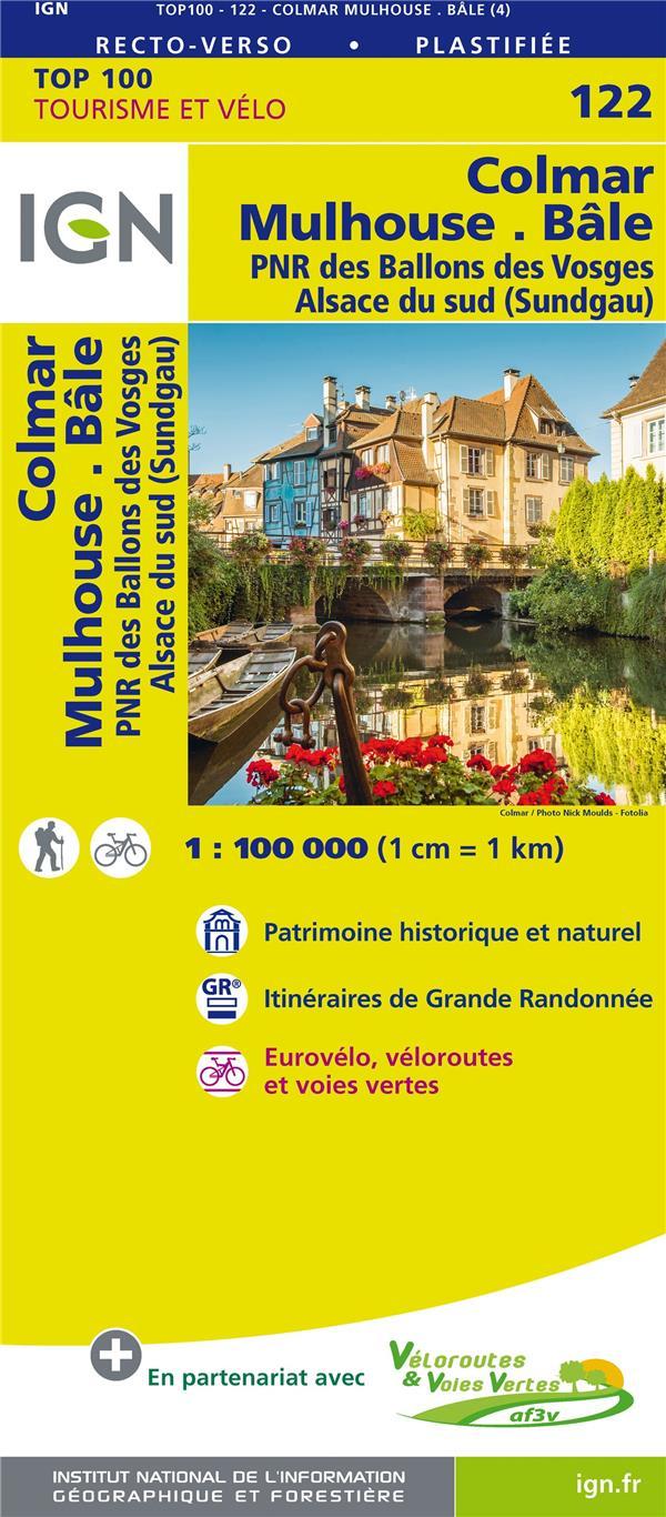 TOP100122 ; Colmar, Mulhouse, Bâle