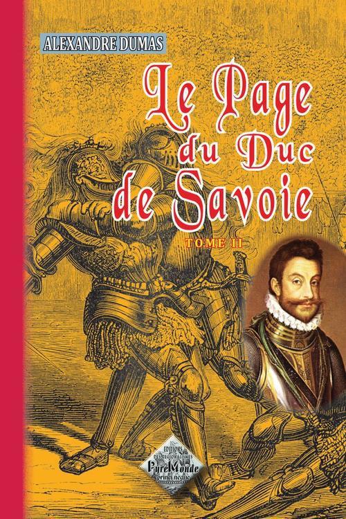 le page du duc de Savoie t.2