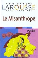 Couverture de Le misanthrope