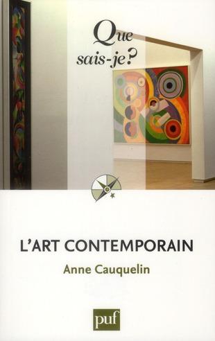 L'ART CONTEMPORAIN (10E EDITION)