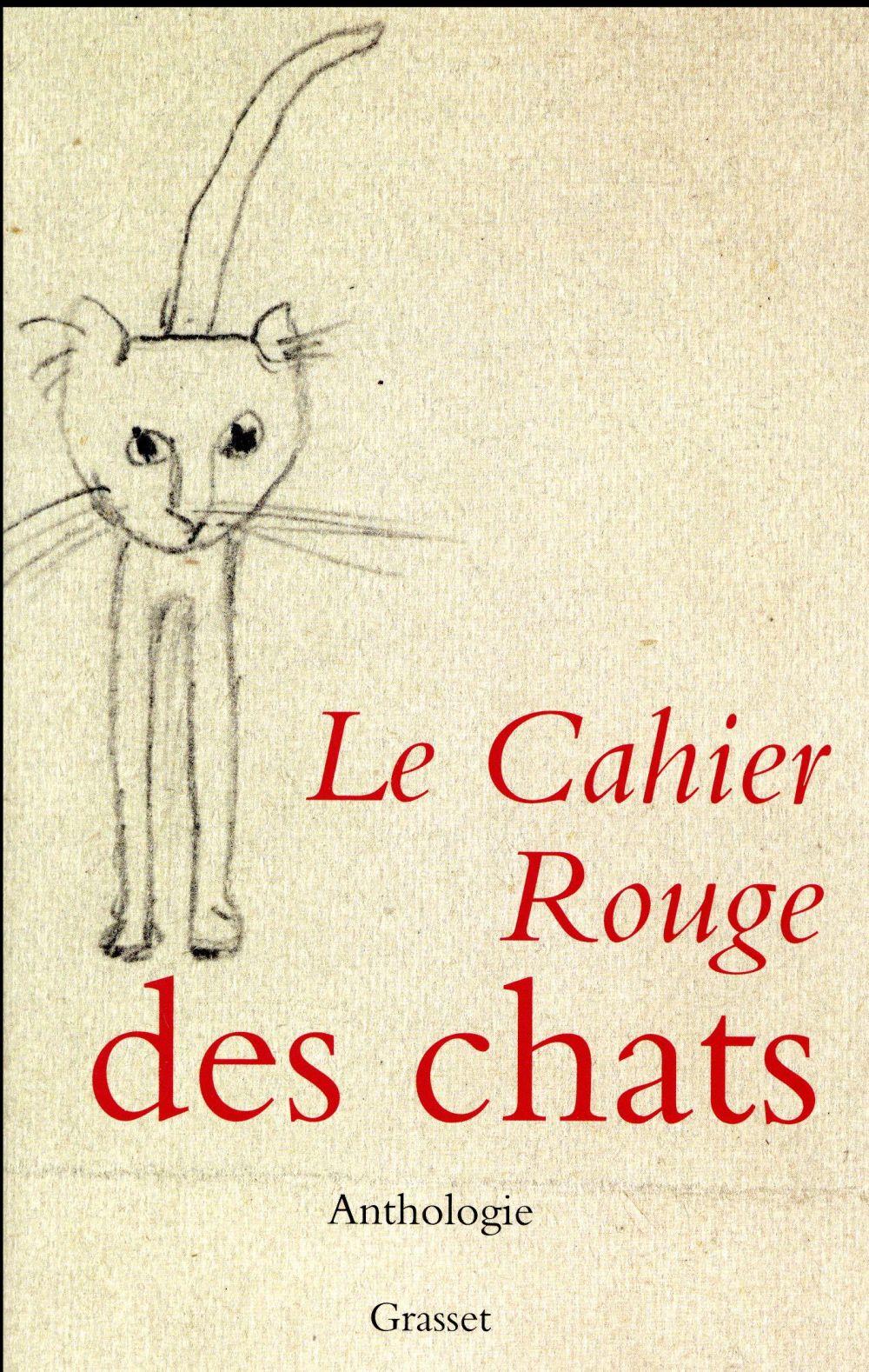 Le cahier rouge des chats