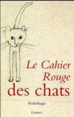 Couverture de Le cahier rouge des chats